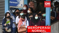 VIDEO: PSBB Transisi, Transjakarta Beroperasi Normal
