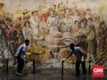FOTO : Museum Fatahilah Bebersih Jelang Dibuka Kembali
