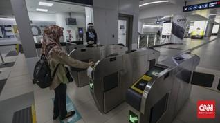 Jadwal Operasional MRT saat PSBB Total DKI