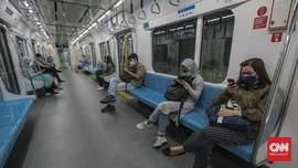 Penumpang MRT Anjlok 94,11 Persen karena Corona