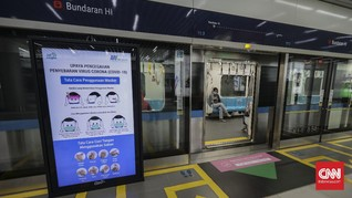 Listrik Padam, MRT Beroperasi Normal