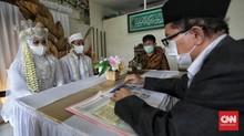 Menikah Kala PSBB, KUA Ciracas Batasi 10 Anggota Keluarga