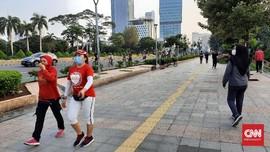 CFD Belum Digelar, Warga Sudah Ramai di Sudirman-Thamrin