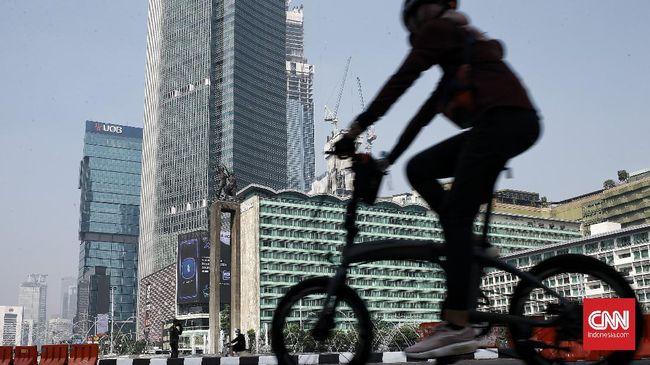 Pengurus Besar Ikatan Sports Sepeda Indonesia (PB ISSI), Raja Sapta Oktohari, memberikan tips aman bersepeda dari begal.