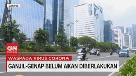 VIDEO: Ganjil-Genap Belum Akan Diberlakukan di DKI Jakarta