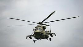 Helikopter Rusia Latihan Tembak Rudal Dekat Afghanistan