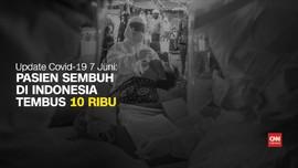 VIDEO: Update 7 Juni, Pasien Sembuh Corona Tembus 10 Ribu