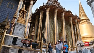 VIDEO: New Normal, Grand Palace Thailand Kembali Dibuka