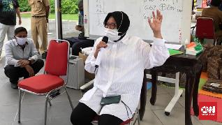 Risma Ungkap Tren Peningkatan Pasien Sembuh Corona Surabaya