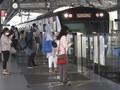 Penumpang MRT Melonjak di Hari Pertama Kerja PSBB Transisi