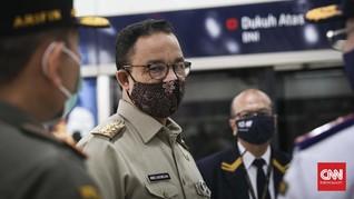 Anies Sebut Warga Tak Pakai Masker Meningkat Tiap Pekan