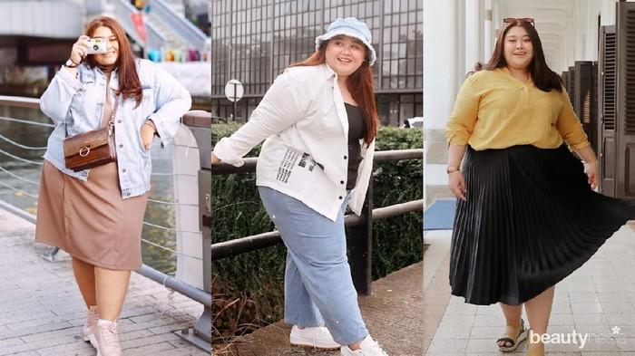 Inspirasi Fashion ala Selebgram Clarissa Putri untuk Kamu Bertubuh Plus Size