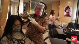 Potong Rambut di Salon Jakarta Wajib Punya Bukti Vaksin