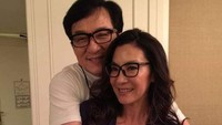 <p>Sementara itu aktor laga Jackie Chan memiliki istri yang juga tak kalah cantik yakni seorang artis Taiwan, Joan Lin. (Foto: Facebook Jackie Chan)</p>