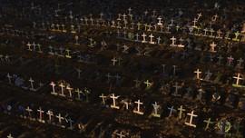 Brasil Kembali Pecah Rekor Kematian Corona, Tembus 1.900