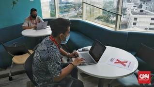 FOTO: Normal Baru di Ruang-ruang Kerja Startup Ibu Kota