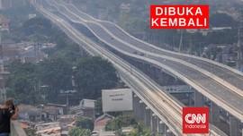 VIDEO: Tol Elevated Dibuka, Kendaraan Ke Jakarta Melonjak