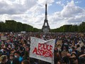 FOTO: Aksi Global Tuntut Keadilan atas Nama Rasial