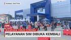 VIDEO: Pelayanan SIM Dibuka Kembali