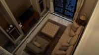 <p>Ini ruang khusus untuk keluarga atau kerabat yang bertamu. Hanya saja ruangan ini belum beres 100 persen. Ruangan ini sengaja dipisah dengan ruang tamu agar privacy-nya lebih terasa. (Foto: YouTube Boy William)</p>