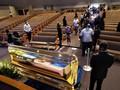 Jasad George Floyd Dibawa ke Pemakaman dengan Kereta Kuda