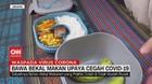 VIDEO: Bawa Bekal Makan Upaya Cegah Covid-19