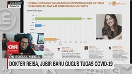 VIDEO: Dokter Reisa, Jubir Baru Gugus Tugas Covid-19