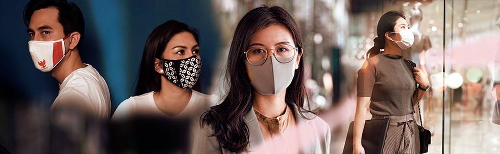 Mix Match Gaya Masker
