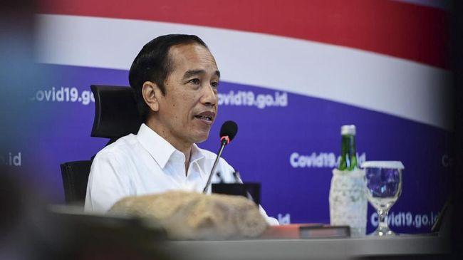 Presiden Joko Widodo mengunjungi BNPB, Rabu (10/6)