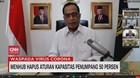 VIDEO: Menhub Hapus Aturan Kapasitas Penumpang 50 Persen