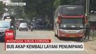 VIDEO: Bus Akap Kembali Layani Penumpang