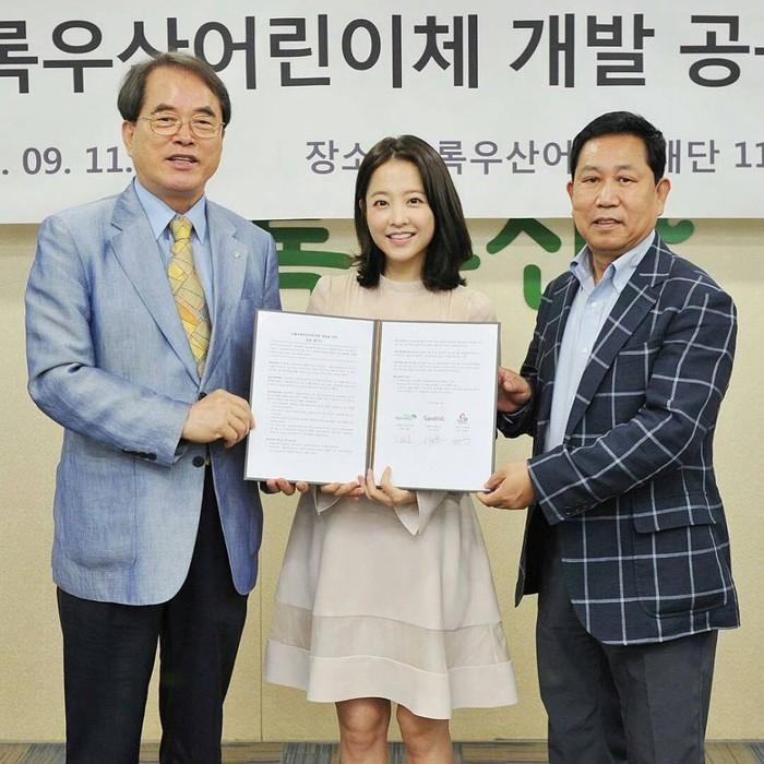 Selain sukses dalam dunia akting, Park Bo Young juga kerap menjadi duta sosial dalam untuk acara amal ataupun peduli sosial. ContohnyaKorea National Police Hospital, 15th Puchon International Fantastic Film Festival (PiFan).Wah, tak cuma cantik tapi berprestasi!(Foto: instagram.com/parkboyoungzone)