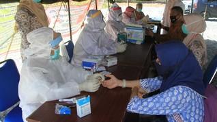 Tes Rapid, 65 Pegawai Pemprov Aceh Reaktif Covid-19