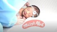 "<span style=""color: #500050; font-family: Arial, Helvetica, sans-serif; font-size: small;"">Nooran Mikayla Abdulla adalah nama yang Tania sematkan pada bayi yang berjenis kelamin perempuan tersebut. (Foto: YouTube Tania Nadira)</span>"
