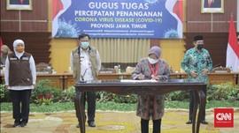 Masa Transisi, Kepala Daerah Surabaya Raya Teken Kesepakatan