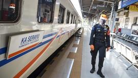 Seluruh KA dari Jakarta Beroperasi Normal Hari Ini
