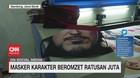 VIDEO: Masker Karakter Beromzet Ratusan Juta