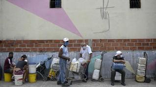 FOTO: Venezuela di Tengah Wabah Corona dan Krisis Air
