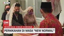 VIDEO: Pengalaman Menikah di Masa 'New Normal'