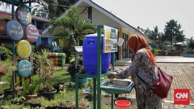 Kasus positif corona dilaporkan sudah terjadi di 267 kelurahan yang ada di DKI Jakarta.