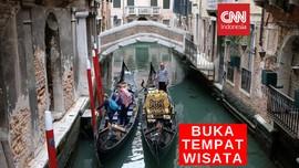 VIDEO: Sejumlah Negara Kembali Buka Tempat Wisata