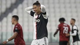 AC Milan vs Juventus, Gagal Penalti Bayangi Ronaldo