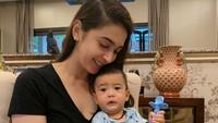 <p>Nabila Syakieb dikaruniai anak kedua, Rasheed Ravindra Radinal pada Oktober 2019 lalu. (Foto: Instagram @raqeemarasheed)</p>