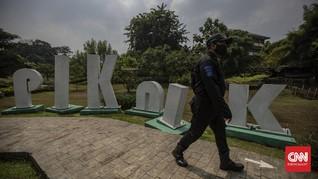 FOTO: Taman di DKI Jakarta Kembali Dibuka