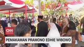 VIDEO: Pemakaman Pramono Edhie Wibowo