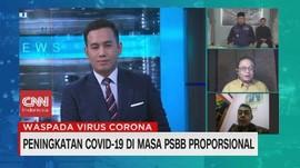 VIDEO: Peningkatan Covid-19 di Masa PSBB Proporsional