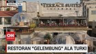 VIDEO: Restoran 'Gelembung' Ala Turki