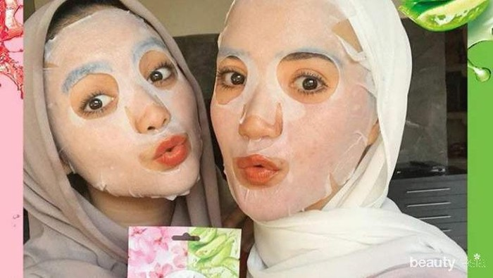5 Sheet Mask Lokal Ekstrak Lidah Buaya untuk Menenangkan Kulit