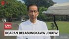 VIDEO: Ucapan Belasungkawa Presiden Jokowi