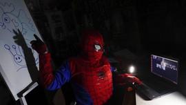FOTO: Kelas Online Bersama Guru Superhero